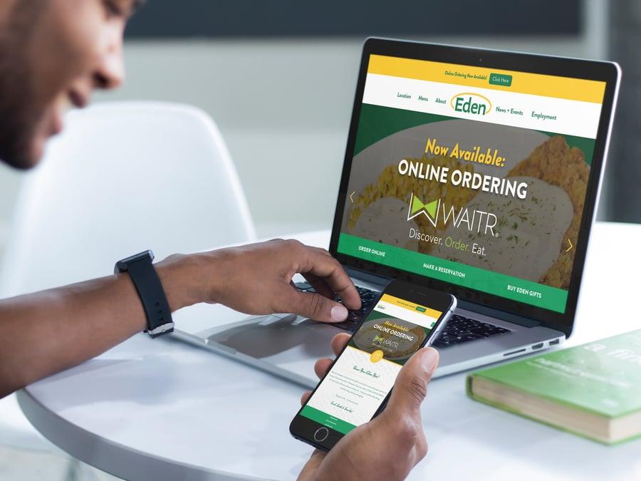 Eden Cafe-website